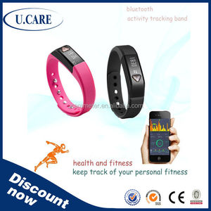 Good quality customized APP bluetooth smart silicone bracelet silicone wrist band, wristband for activity, active rfid wristband