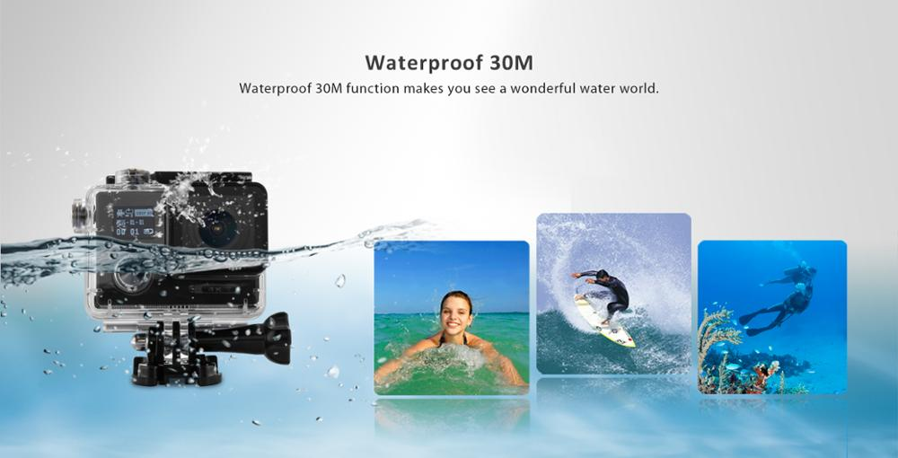 Action Camera night vision 4K sports camera customerized driver sports camera Waterproof Wifi