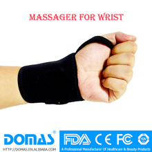 OEM design FDA CE soft cotton wrap blood circulation vibrating massage glove