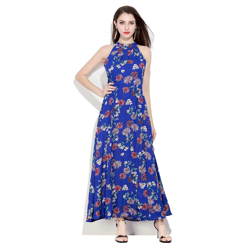 2018 Spring New Ladies Fashion Dress Sleeveless Sexy Dress фото
