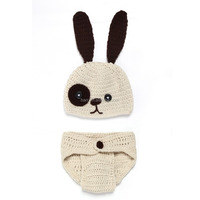 Attractive kid photography rabbit suit clothing