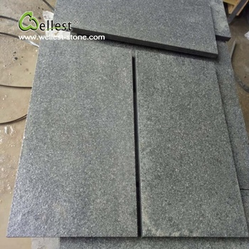 China Xiamen G654 Black Granite Small Slabs For Floor Paving Buy