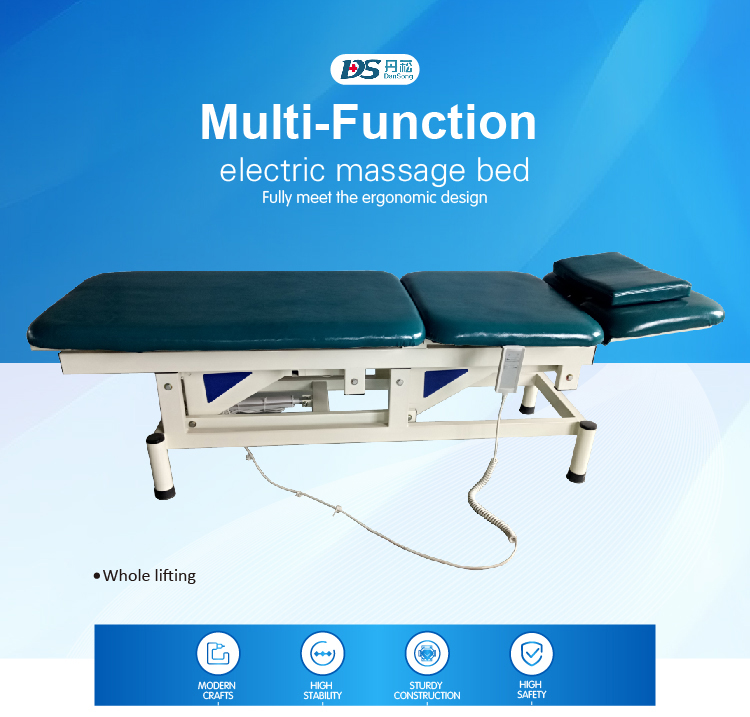 Medical Specific Use Mechanical Facial Massage Bed For Sale