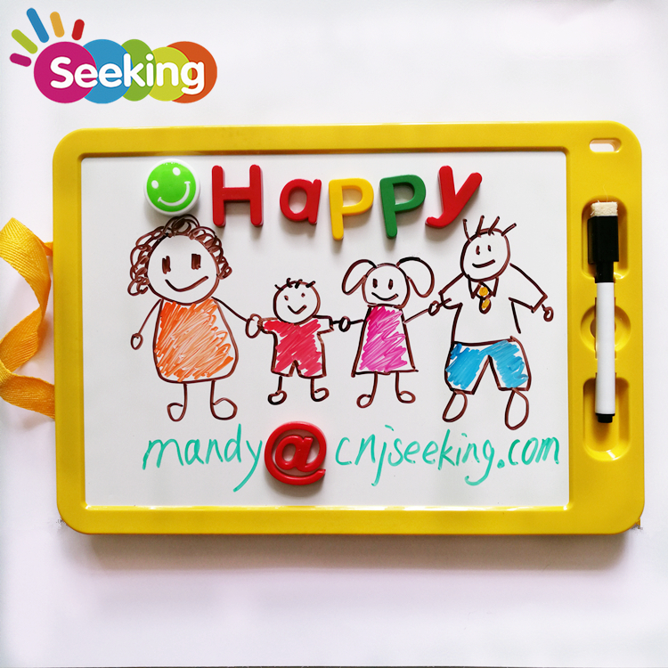 Double Sided Magnetic Dry Erase Plastic Whiteboard Kids <strong>gift</strong>