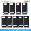 Shockproof TPU Rubber Carbon Fiber Phone Case Cover For Huawei Y3 II Case