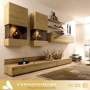 2018 Hangzhou Vermont Modern Design Lcd Tv Plywood Wall