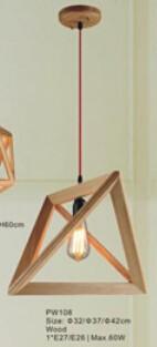 moderno estilo techo luces colgantes vintage luces de bamb de madera de pared linternas