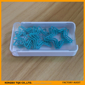 Funny Star Shaped Paper Clips New Design 2015/Paper Clip Box