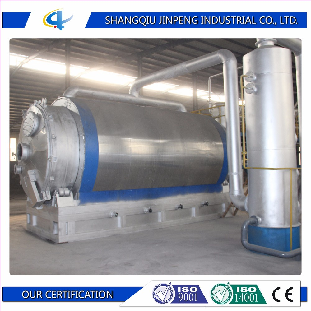 High Oil Rate Waste Plastic Recycling Integrated Pyrolysis Equipment