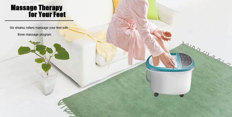 2019 Electric Portable Relaxing Spa rolling foot Bath Machine