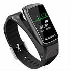 BT Smart Band Talkband B7 Heart Rate Monitor Smart Watch Sport Health Smart Bracelet with Music Player Answer Call