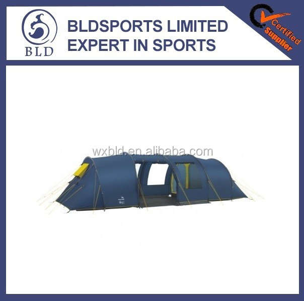Hot sale and High quality waterproof 8man big tent family camping tent