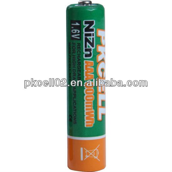 Largest Selection & Best PRICES for rechargeable Batteries NiZn 1.6V AAA 900mwh