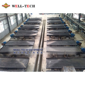 Tin ore shaking table