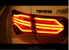 Factory outlet High quality for taillight Toyota 2014-2016 Corolla led rearlight