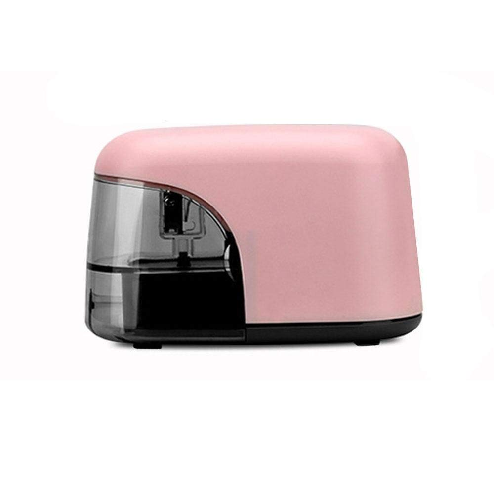 FOONEE Electric Pencil Sharpener, Auto Stop and Fast Sharpen Kids Sharpeners for 6.5-8mm Diameter Pencils,Battery Operated Sharpener with LED Light Shining for Home,Office,School,Artist,Students