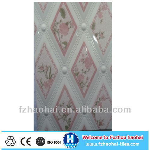 30x45 engobe interor pink color wall tile
