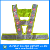 hot sale reflective traffic vest custom design safety hi vis led vest