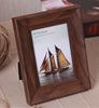 Customized shape/color Retro frame wood photo frame