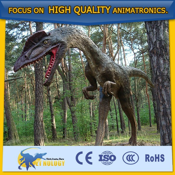 Cetnology China giant vivid resin moving Induced dinosaur statues