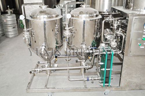 Small Mini Brewery 2bbl 200l Home Used Beer Brewing