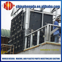 reusable wall panels for concrete