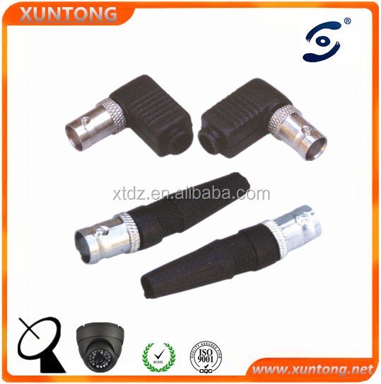 copper alloy right angle F female to PAL male adapter bnc/sma type connector