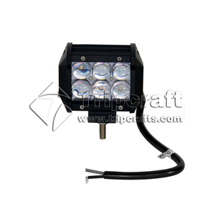 China cheap price 30W small led light bar 4D 5D 12v / 24v 4 inch led work light bar for cars, offroad, 4WD