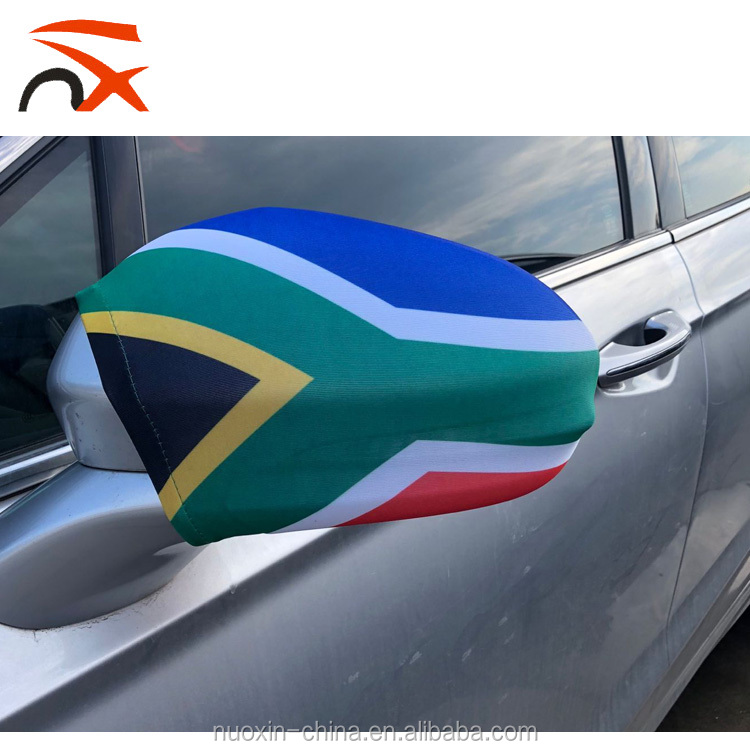 World cup top 32 country wing South Africa car mirror cover flag