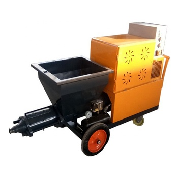 Good quality wall putty cement mortar spray plaster machine