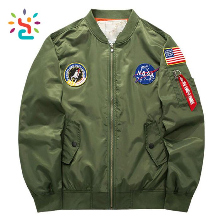 Hommes Qualité Bomber Veste Hiver Haute Personnalisé De Astronaute qSwIxC0