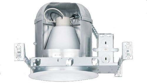 NICOR Lighting 6-Inch IC Rated Line-Voltage New Construction Housing without Bracket (17002ANB)