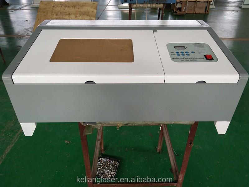 A4 laser engraving machine 3020 with 40w laser tube