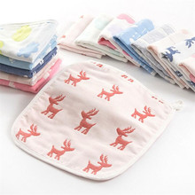 Best selling sweat unique japanese design gauze handkerchief infant baby face towel hand towel