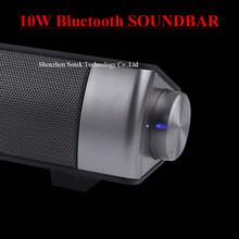 Enceinte Sound Bar Wireless Bluetooth Speaker HiFi 10w Portable Soundbar Speaker For TV Stereo Subwoofer Speakers Sound Box