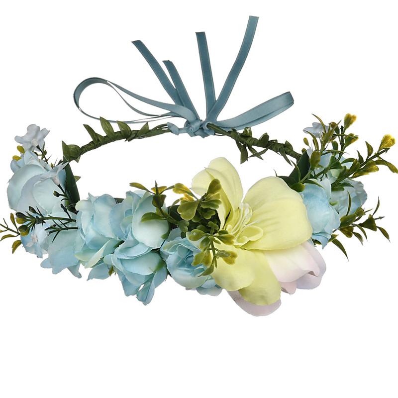 Bando Bunga Pantai Pernikahan, Mahkota Gadis Bunga Buatan Murah