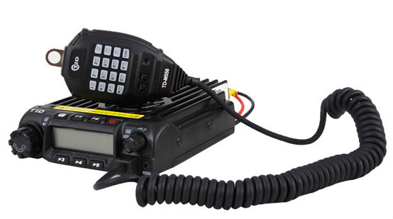 CE approved base radio tid td-m558 vhf vehicle mounted mobile transceiver