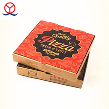 Custom design italy mini empty carton cheap pizza delivery boxes with logo