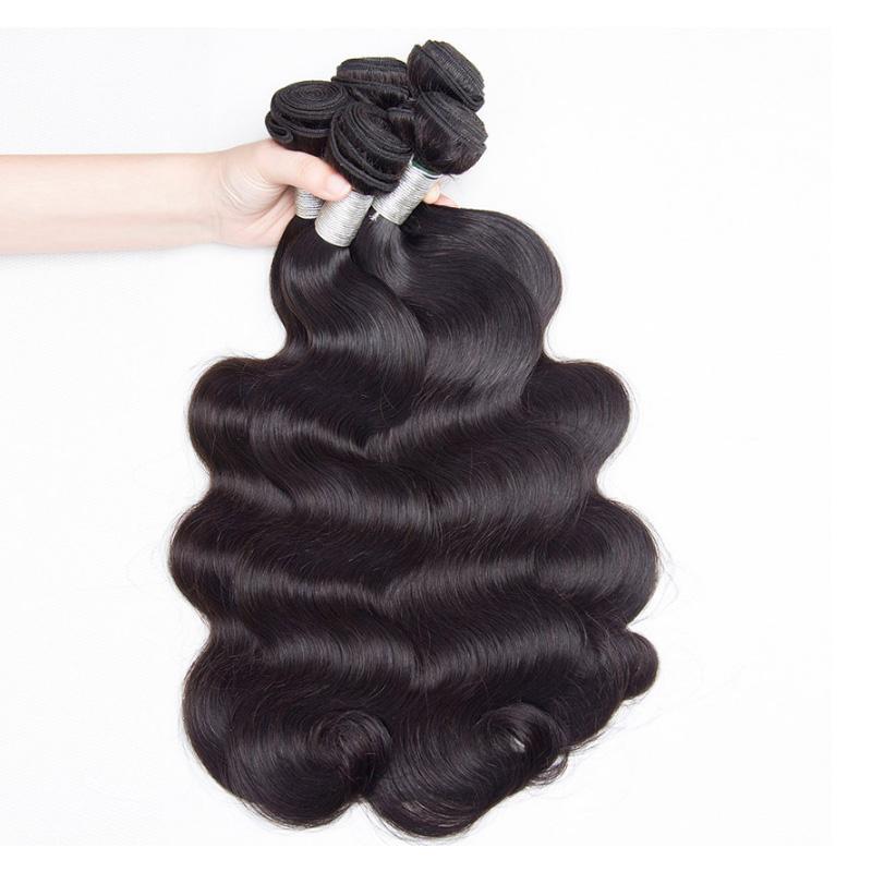 Real Mink 10a 11a 12a Grade Human Hair Bundles Raw Unprocessed Virgin Brazilian Hair, #1b brazilian hair bundles