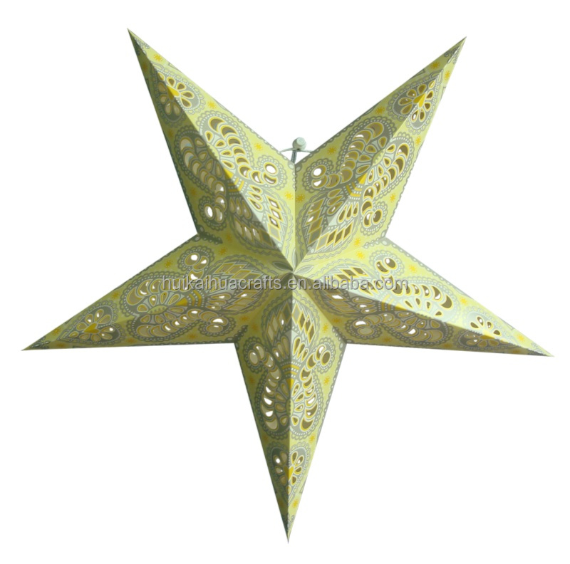 Hanging star lamp party decoration hot sale