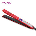 New Design Touch Screen Red Hair Straightener With High Quality Fashion Straight Hair Machine
