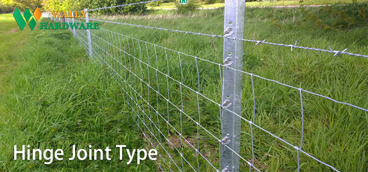 Corrosion Resistant Hinged Joint Fencing For Farm Forest Guard Wild Dog Hinged Joint Wire Field Fence Mesh