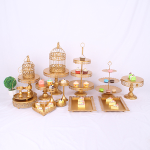 Wedding Cake Stand Set Variety Of Cake Stand Golden Or White Cake Stand