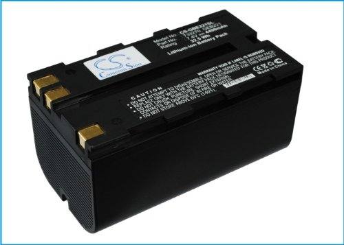 Battery2go - 1 year warranty - 7.4V Battery For Leica GEB211, 733270, 724117, Piper 100, RX1200, GPS900, ATX1200