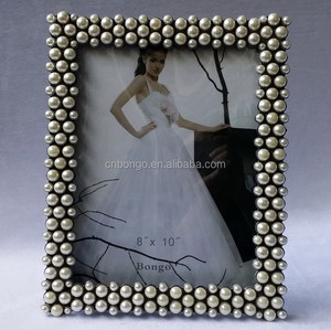 decorative jewel picture frames for wedding picture