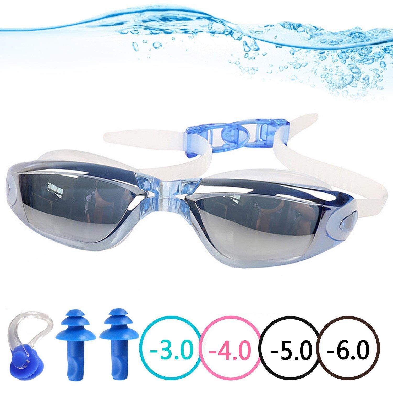 6e248a19e8e Get Quotations · YINGNEW Prescription Swim Goggles