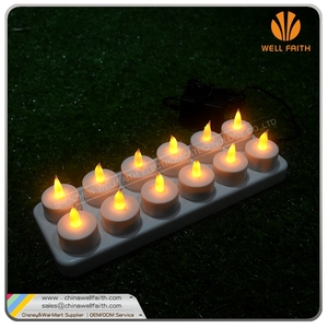 LED Tea Light Candle With Base