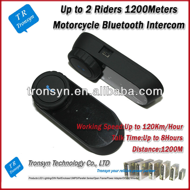 Direct Factory 2013 New Arrival 1000Meters Motorcycle Helmet Bluetooth Headset wifi intercom system
