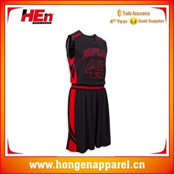e17f043bbf4 Hongen apparel 2017 Custom Best Latest Basketball Jersey Design 2017 China Manufacturer  basketball jersey black and