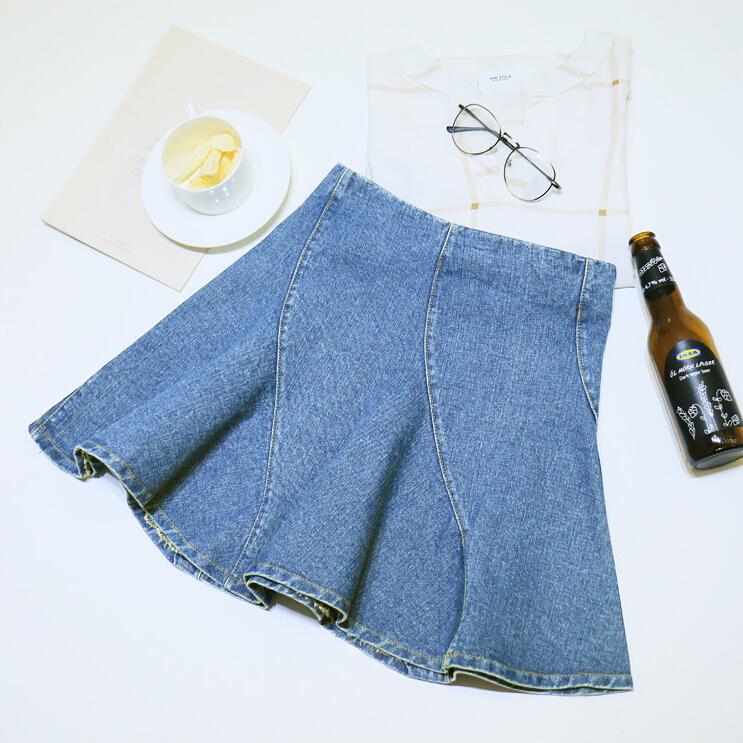 4feacd86c Get Quotations · New summer fashion Korean women irregular bottom skirt  high waist solid slim women bubble skirt